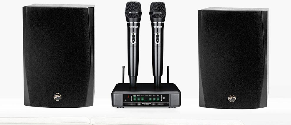 超能唱将 TS-6500FX 麦克风 话筒 D1080IV音箱 家庭 KTV