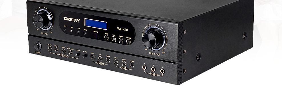 雅马哈KMA-1080卡包功放搭配博士301V音箱 免点歌机KTV套装