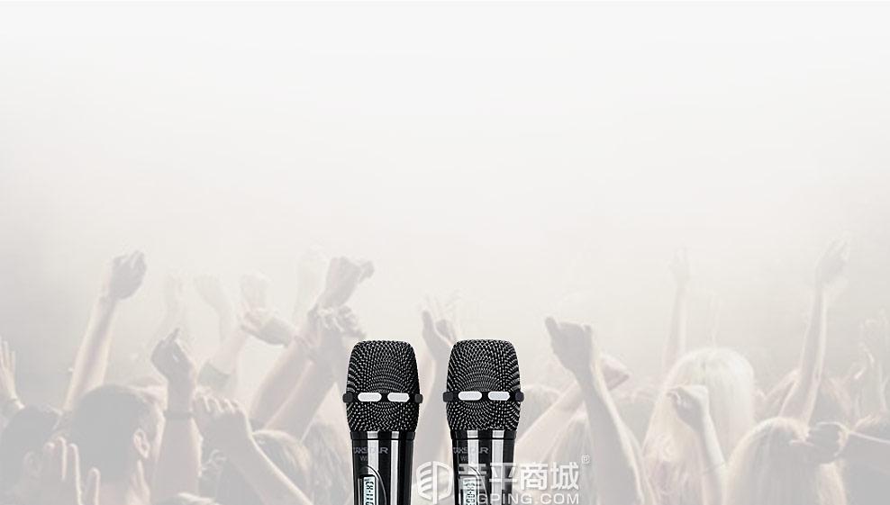 无线麦克风搭配声卡支持3个平台同时直播套装