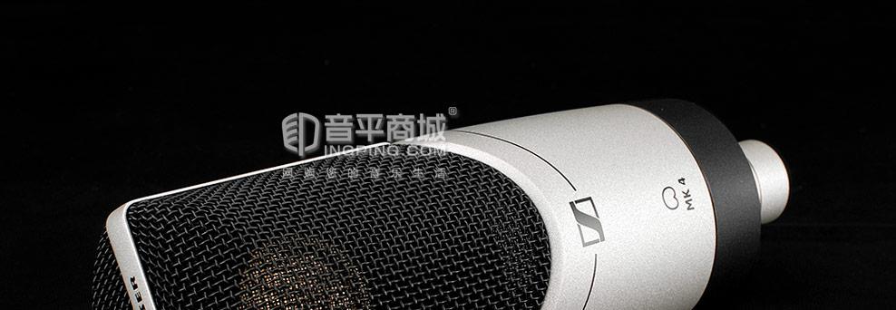 富克斯特Scarlett 18i20录音声卡搭配森海塞尔MK4麦克风 乐器录音套装